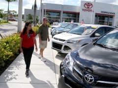 Toyota dealership, auto dealer, auto sales